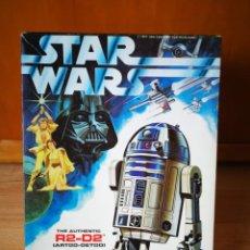 Maquetas: STAR WARS. CAJAS DE MAQUETAS DE R2-D2 Y DE C-3PO. INCLUYE INSTRUCCIONES (1977). Lote 167825204