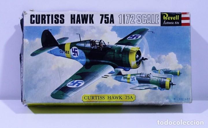 MAQUETA CURTISS HAWK 75A REVELL ESCALA 1/72 (Juguetes - Modelismo y Radio Control - Maquetas - Aviones y Helicópteros)