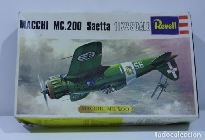MAQUETA MACCHI MC.200 SAETTA REVELL ESCALA 1/72 (Juguetes - Modelismo y Radio Control - Maquetas - Aviones y Helicópteros)