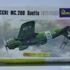 Maquetas: MAQUETA MACCHI MC.200 SAETTA REVELL ESCALA 1/72. Lote 167953016