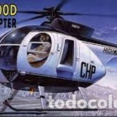Maquetas: ACADEMY - POLICE HELICOPTER 500D 1/48 12249. Lote 167962048