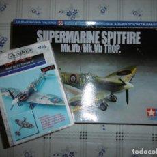 Maquetas: TAMIYA 1/72 SUPERMARINE SPITFIRE MK.VB + KIT AIRES HOBBY MODELS 7103. Lote 167993140