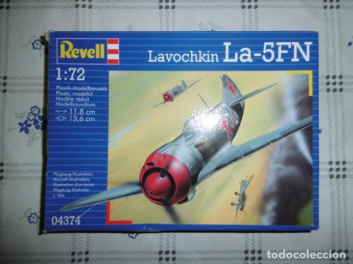 REVELL 04374 1/72 LAVOCHKIN LA-5FN (Juguetes - Modelismo y Radio Control - Maquetas - Aviones y Helicópteros)