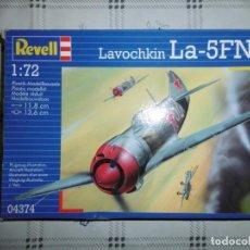 Maquetas: REVELL 04374 1/72 LAVOCHKIN LA-5FN. Lote 167993588