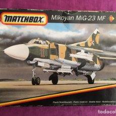 Maquetas: MIKOYAN MIG-23 MF 1:144 MATCHBOX MAQUETA AVION. Lote 168086044
