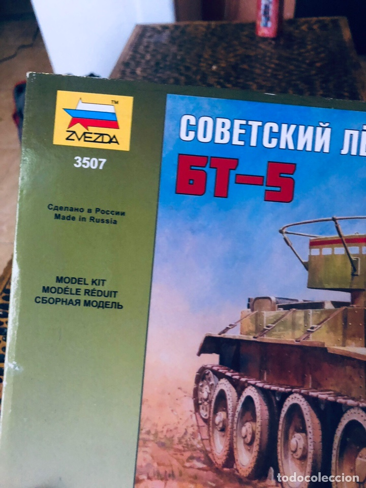 Maquetas: MAqueta militar rusa tanque BT-5 contiene calcas españolas - Foto 3 - 168180608