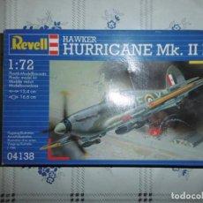 Maquetas: REVELL 04138 1/72 HAWKER HURRICANE MK.IIB. Lote 168551713