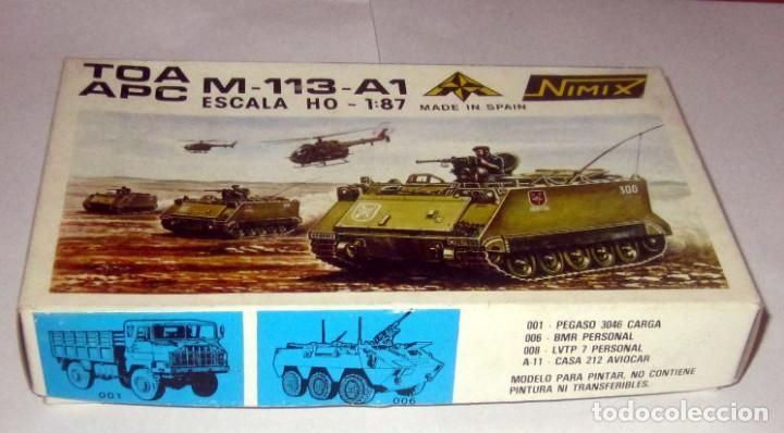 NIMIX TOA APC M-113-A1 ESCALA H0 MAQUETA NUEVA EN CAJA (Juguetes - Modelismo y Radiocontrol - Maquetas - Coches y Motos)