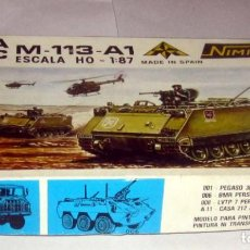 Maquetas: NIMIX TOA APC M-113-A1 ESCALA H0 MAQUETA NUEVA EN CAJA. Lote 168840508