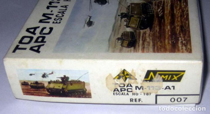 Maquetas: NIMIX TOA APC M-113-A1 ESCALA H0 MAQUETA NUEVA EN CAJA - Foto 2 - 168840508