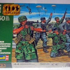 Maquetas: REVELL GERMAN PARACAIDISTAS,ESCALA 1/72. Lote 168845508