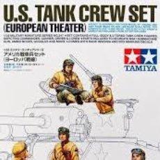 Maquetas: TAMIYA - U.S. TANK CREW SET EUROPEAN THEATER 1/35 35347. Lote 168973196