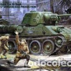 Maquetas: TAMIYA - T34/76 RUSSIAN TANK CHTZ VERSION 1943 PRODUCTION 1/35 35149. Lote 168973788