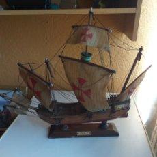 Maquetas: BARCO CARABELA SANTA MARIA 1492. Lote 169084841