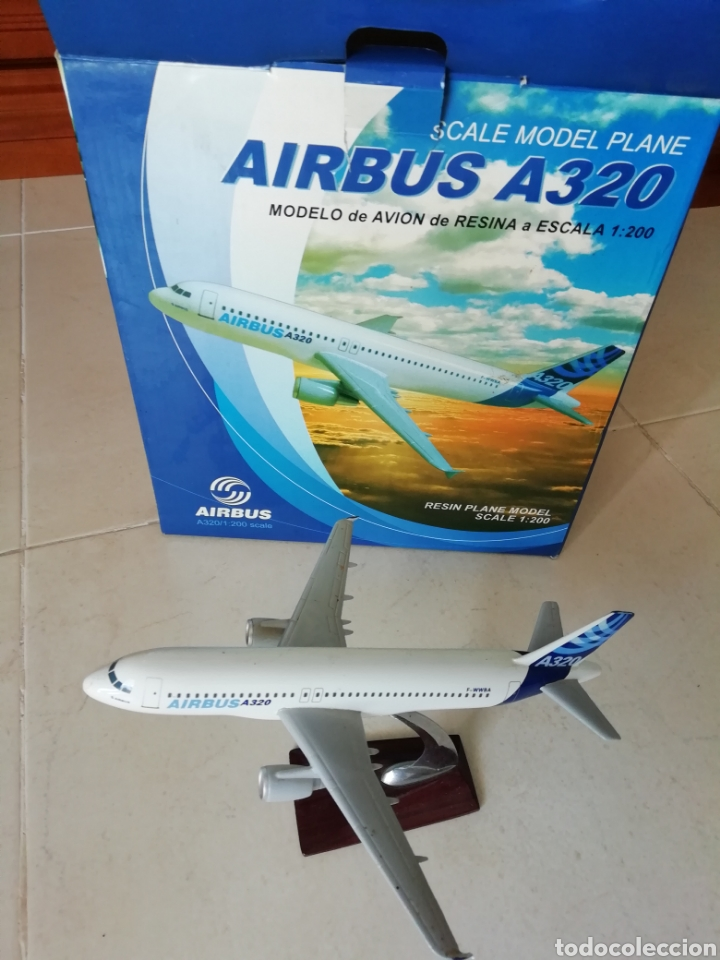 MAQUETA AVIÓN AIRBUS A330 RESINA ESCALA 1:200 19CM (Juguetes - Modelismo y Radio Control - Maquetas - Aviones y Helicópteros)