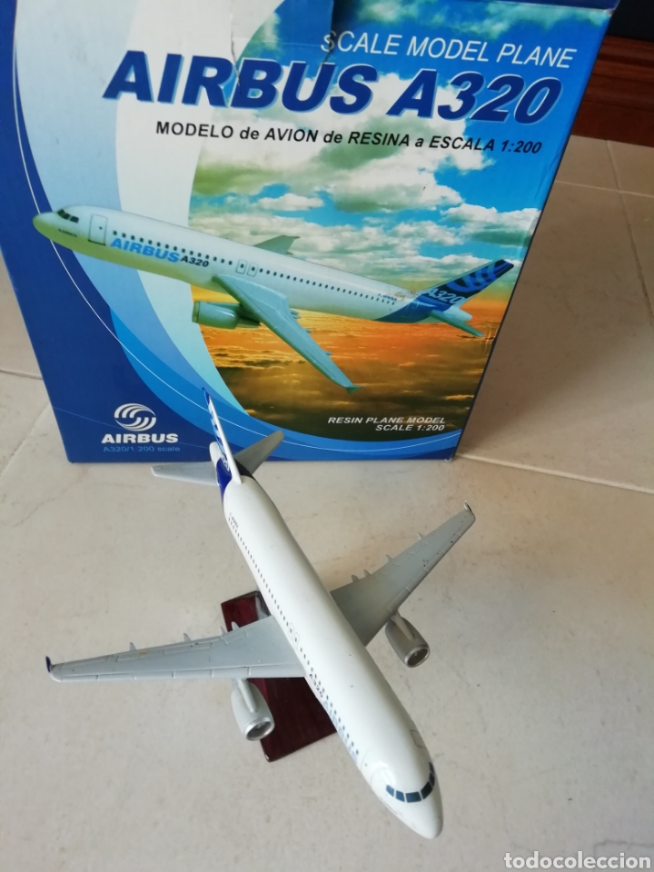 Maquetas: Maqueta AVIÓN AIRBUS A330 RESINA ESCALA 1:200 19cm - Foto 2 - 169096144