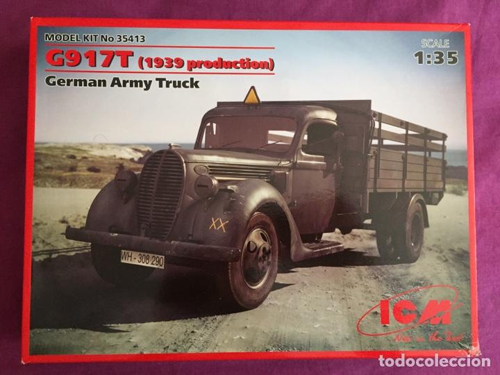 FORD G917T 1939 GERMAN ARMY TRUCK 1:35 ICM MAQUETA CAMIÓN CARRO DIORAMA (Juguetes - Modelismo y Radiocontrol - Maquetas - Militar)