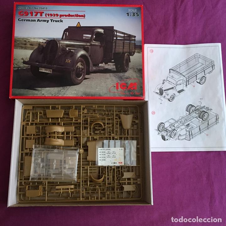 Maquetas: FORD G917T 1939 German Army Truck 1:35 ICM maqueta camión carro diorama - Foto 3 - 169136713