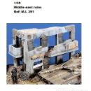 Maquetas: WWII EDIFICIO RUINAS MIDDLE EAST 1/35 ACCESORIOS DIORAMA BUILDING RUINS. Lote 169355134