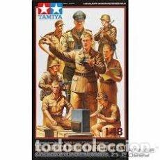 Maquetas: TAMIYA - WWII GERMAN AFRICA CORPS INFANTRY SET 1/48 32561. Lote 169708436