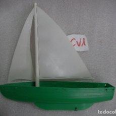 Maquetas: ANTIGUO BARCO PLASTICO TAMAÑO +- 30 CM LARGO . Lote 169759064
