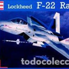 Maquetas: REVELL - F-22 RAPTOR 04559 1/48. Lote 169764234