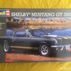 Maquetas: SHELBY MUSTANG GT350 H 1:24 REVELL 07242 MAQUETA COCHE MUSCLE CAR FORD. Lote 169791137