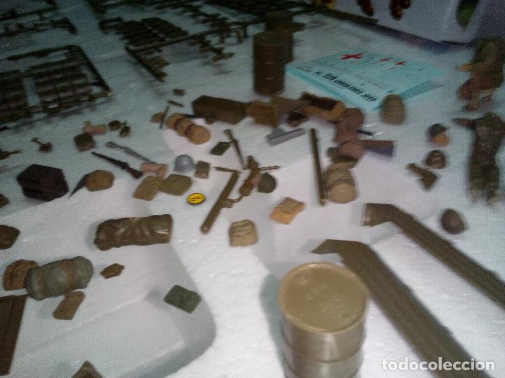 Maquetas: -LOTE DESGUACE TAMIYA-ACCESSORY SET -MILITARY MINIATURES-1/35 -para dioramas o completar - Foto 5 - 170096240