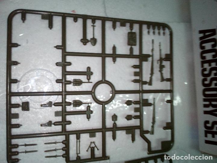 Maquetas: -LOTE DESGUACE TAMIYA-ACCESSORY SET -MILITARY MINIATURES-1/35 -para dioramas o completar - Foto 12 - 170096240