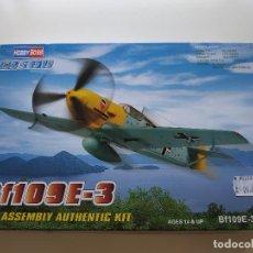 Maquetas: JJ- BF109E-3 HOBBY BOSS NUEVO PROCEDENTE DE JUGUETERIA. Lote 170190520