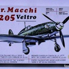 Maquetas: MAQUETA SUPERMODEL AER. MACCHI C. 205 VELTRO ESCALA 1/72. Lote 171201803