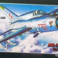 Maquetas: MIG-21 SM/MF. PLSTYK KONKURS ESCALA 1/72. MODELO NUEVO. Lote 171219400