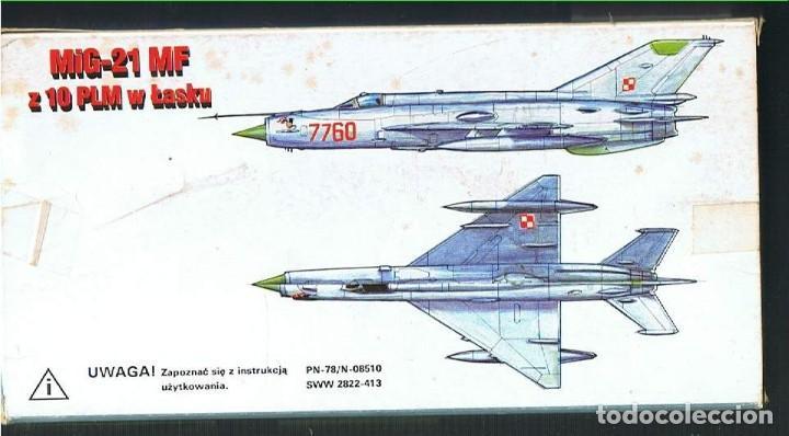 Maquetas: MIG-21 SM/MF. PLSTYK KONKURS ESCALA 1/72. MODELO NUEVO - Foto 2 - 171219400