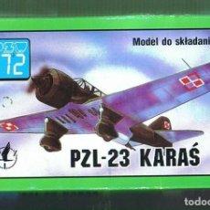 Maquetas: PZL 23 KARAS. PZW ESCALA 1/72. MODELO NUEVO. Lote 171219650