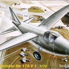 Maquetas: HEINKEL HE 178V-1 (FISRT JET/PRIMER REACTOR) 1/72 CONDOR. Lote 171230015