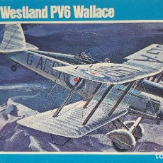 Maquetas: WESTLAND PV6 WALLACE (FISRT OVER EVEREST / PRIMERO SOBRE EL EVEREST) 1/72 NOVO. Lote 171234058