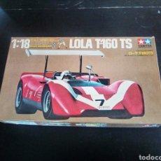 Maquetas: TAMIYA, ESCALA 1/18 LOLA T-160 TS DEL 1970. Lote 171256349