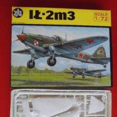 Maquetas: ILIOUSHIN IL-2M3. ZTS ESCALA 1/72. MODELO NUEVO. Lote 171322764