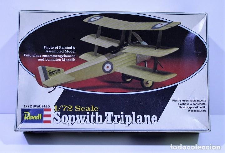 MAQUETA REVELL SOPWITH TRIPLANE ESCALA 1/72 (Juguetes - Modelismo y Radio Control - Maquetas - Aviones y Helicópteros)