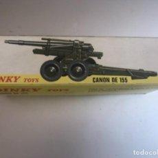 Maquetas: DINKY TOYS CANON DE 155. Lote 171500492