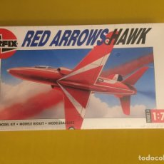 Maquetas: HAWK RED ARROWS 1:72 AIRFIX MAQUETA AVIÓN. Lote 171774862