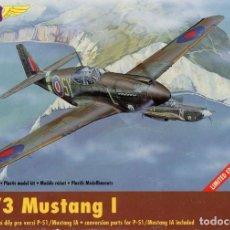 Maquetas: NORTH AMERICAN P-51 (NA-73) MUSTANG/MUSTANG MK.IA 1/72 MODEL NEWS. Lote 171799582