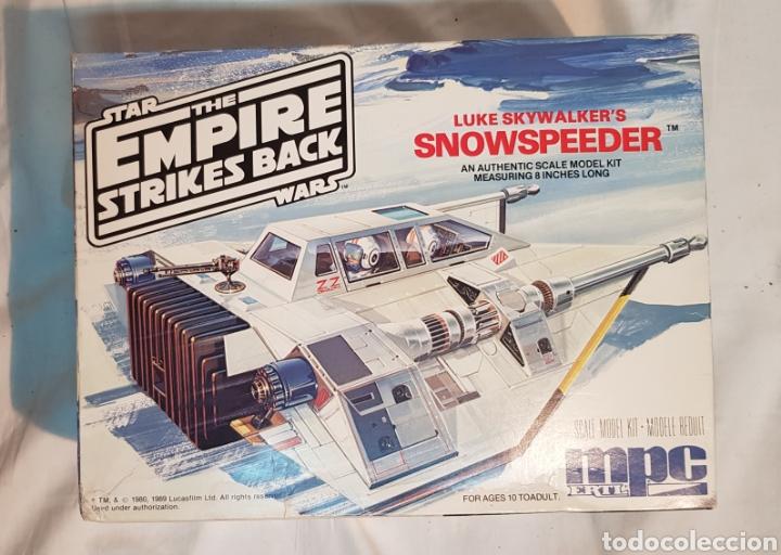 STAR WARS EMPIRE STRIKES BACK LUKE SKYWALKER'S SNOWSPEEDER MPC, MAQUETA 8914 (Juguetes - Modelismo y Radiocontrol - Maquetas - Otras Maquetas)