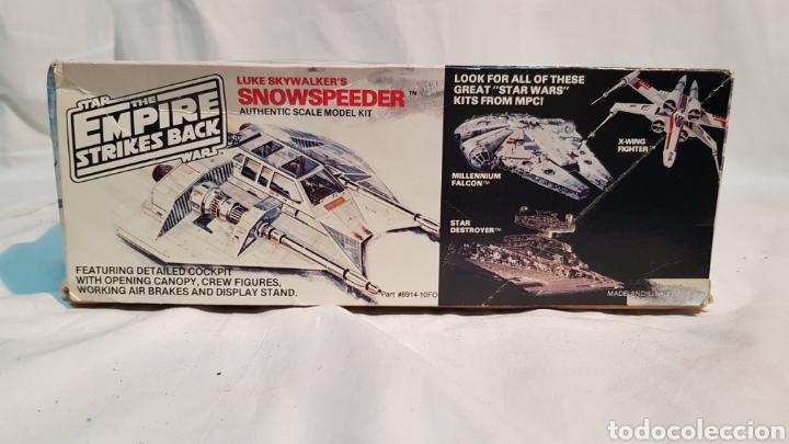Maquetas: STAR WARS EMPIRE STRIKES BACK LUKE SKYWALKERS SNOWSPEEDER MPC, MAQUETA 8914 - Foto 2 - 171906823