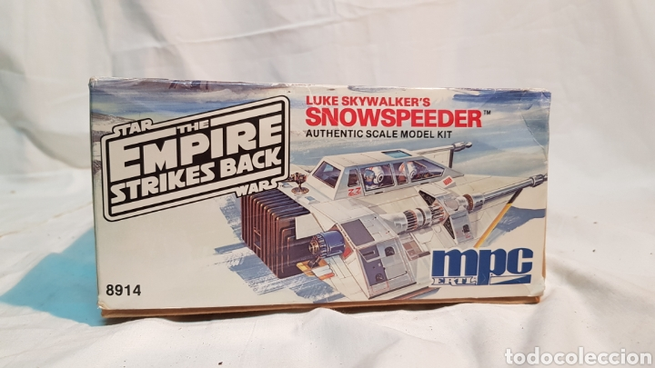 Maquetas: STAR WARS EMPIRE STRIKES BACK LUKE SKYWALKERS SNOWSPEEDER MPC, MAQUETA 8914 - Foto 3 - 171906823
