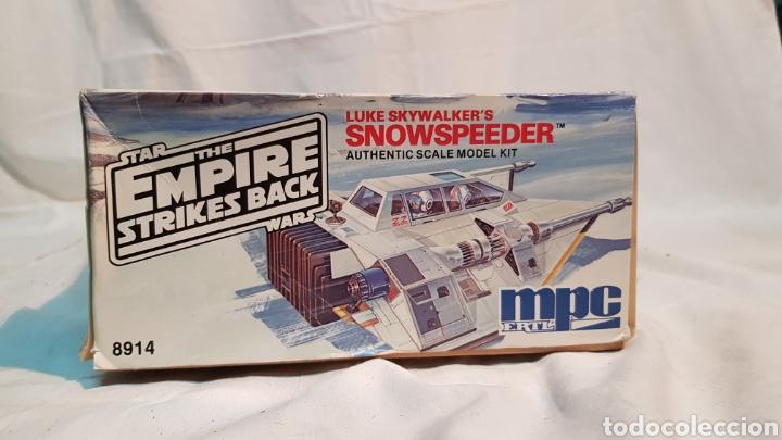 Maquetas: STAR WARS EMPIRE STRIKES BACK LUKE SKYWALKERS SNOWSPEEDER MPC, MAQUETA 8914 - Foto 5 - 171906823