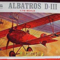 Maquetas: ALBATROS D.III. REVELL ESCALA 1/72 MODELO NUEVO.. Lote 172100738