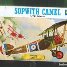 Maquetas: SOPWITH CAMEL. REVELL ESCALA 1/72 MODELO NUEVO.. Lote 172102330