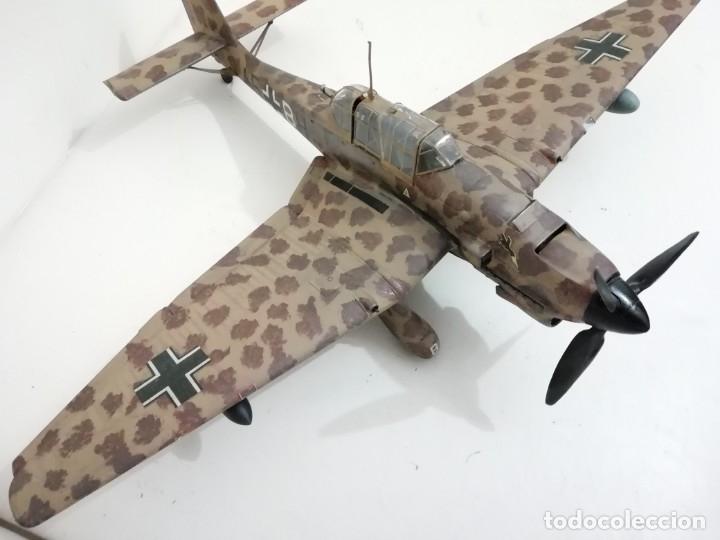Maquetas: Maqueta 1/24 Junkers Ju 87 Stuka Alemán Segunda Guerra Mundial Perfecto Estado - Foto 2 - 172278992