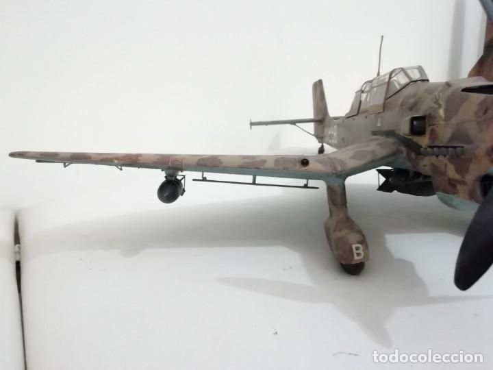 Maquetas: Maqueta 1/24 Junkers Ju 87 Stuka Alemán Segunda Guerra Mundial Perfecto Estado - Foto 4 - 172278992